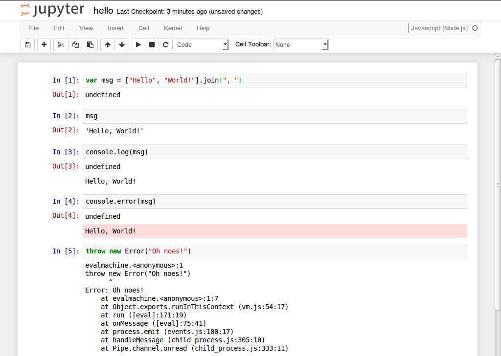 Write Javascript in iPython Notebook « Cheng's Blog